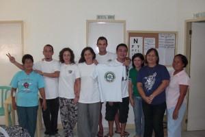 Trabajadores del Centro de Salud