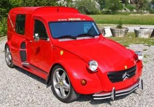 Que te digo que es un Ferrari...