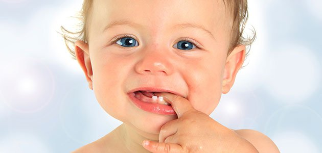 La salida de los dientes afecta de distintas formas en los bebés. Fuente foto: www.guiainfantil.com
